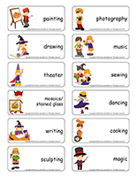 Word-flashcards-Halloween-Creative-workshops