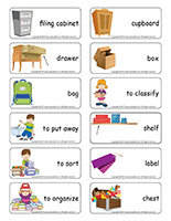 Word flashcards-I am learning to sort