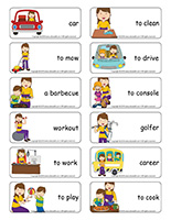 Word flashcards-Mother's Day
