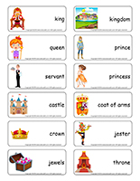 Word flashcards-Royalty