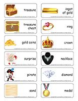Word flashcards-Treasure