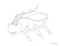 coloring pages theme-Critters