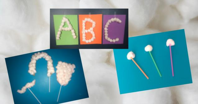 10 things to do with cotton balls - Tips and tricks - Educatall