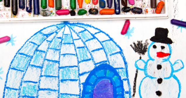 An igloo craft for all ages - Extra activities - Educatall