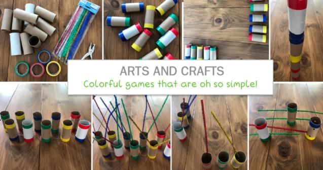 Colorful games that are oh so simple!