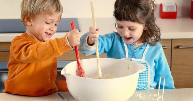Cooking with children - Tips and tricks - Educatall