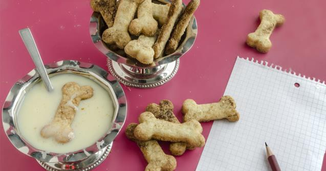 Dog biscuits - Creative recipes - Educatall