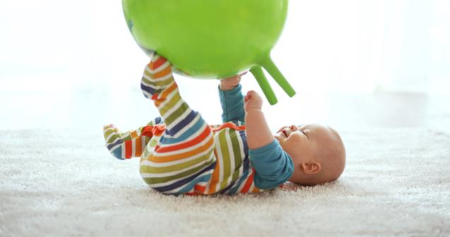 Exercise balls and cylinder cushions - Babies and toddlers - Educatall