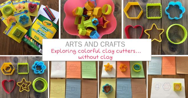 Exploring colorful clay cutters…without clay