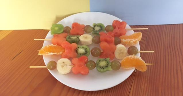 Fruit Kabobs - Arts and crafts - Educatall