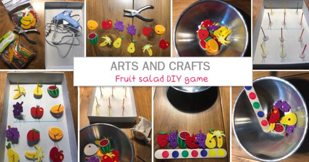 Fruit salad DIY game - Arts and crafts - Educatall