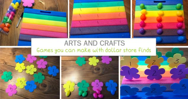 Games you can make with dollar store finds - Arts and crafts - Educatall