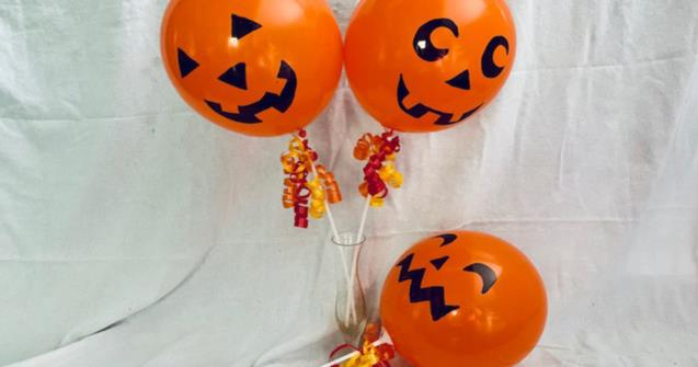 Jack-o'-lantern Balloons - Arts and crafts - Educatall