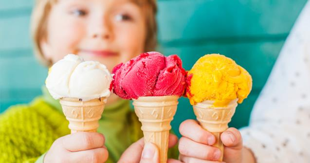 "Learn how to say ""ice cream"" in French - Extra activities - Educatall"