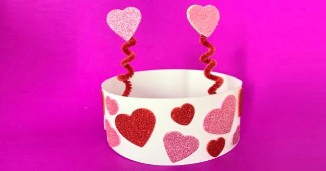 Love Bug Crown - Arts and crafts - Educatall