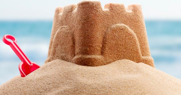 Magic Sand for sand castles - Creative recipes - Educatall
