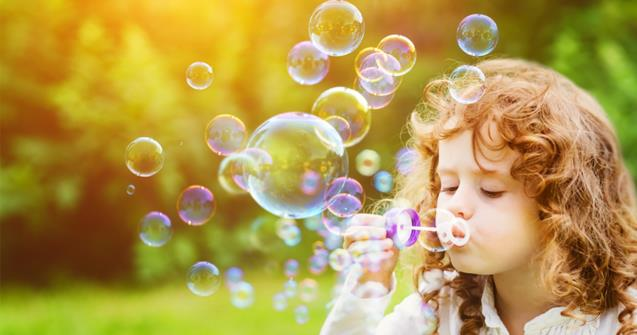 Magical Multicoloured Bubbles - Creative recipes - Educatall