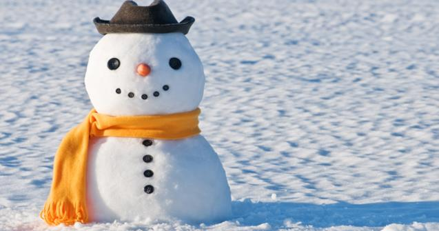 Melting snowman - Arts and crafts - Educatall