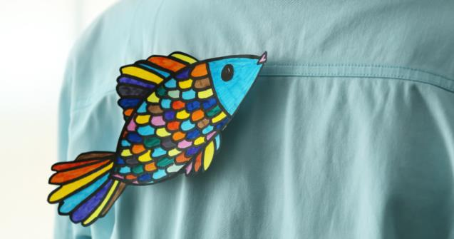 My little fish - Arts and crafts - Educatall