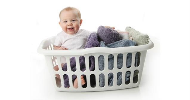Nine Ways Babies Can Put Laundry Baskets To Good Use - Babies and toddlers - Educatall