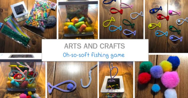 Oh-so-soft fishing game - Arts and crafts - Educatall