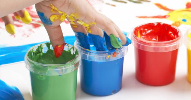 Painting without paintbrushes - Arts and crafts - Educatall