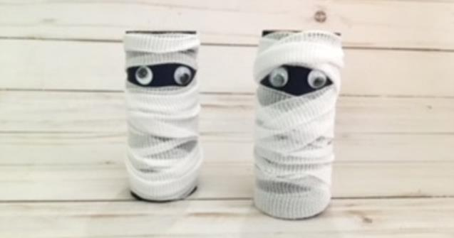 Paper Roll Mummies - Arts and crafts - Educatall