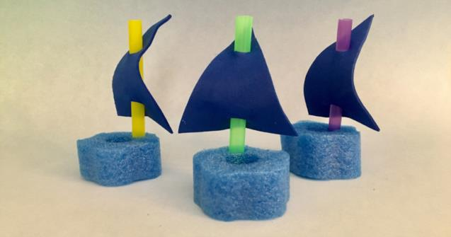 Pool noodle boats - Arts and crafts - Educatall