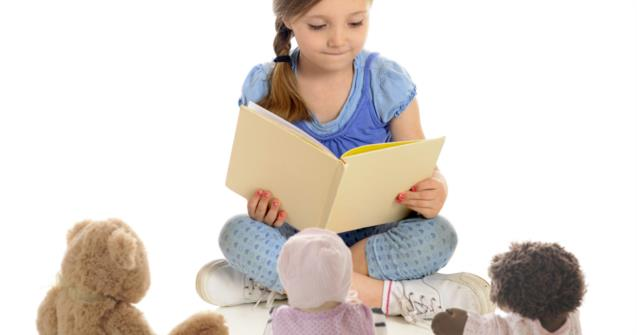 Reading to my doll - Extra activities - Educatall