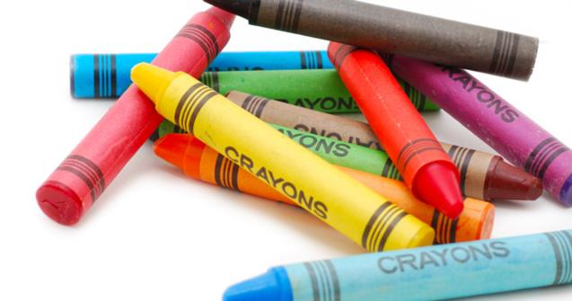 Recycled crayons - Creative recipes - Educatall