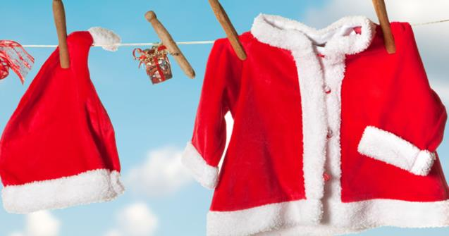 Santa's coat - Arts and crafts - Educatall