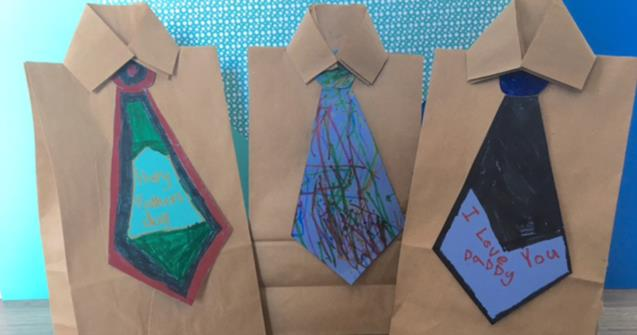 Shirt and Tie Gift Bags - Arts and crafts - Educatall