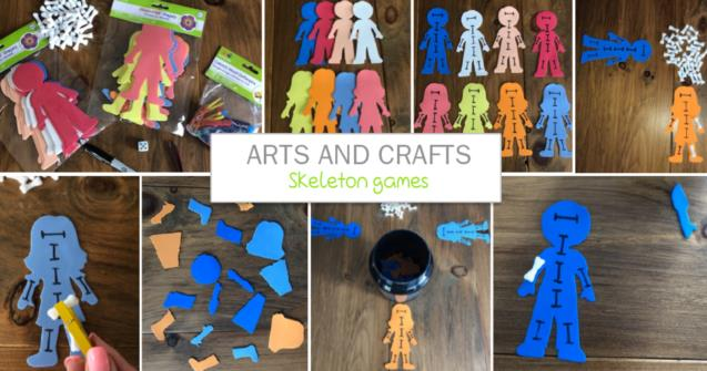 Skeleton games - Arts and crafts - Educatall