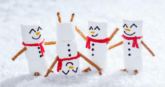 Snowman Blocks - Arts and crafts - Educatall