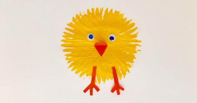 Spring chicks - Arts and crafts - Educatall