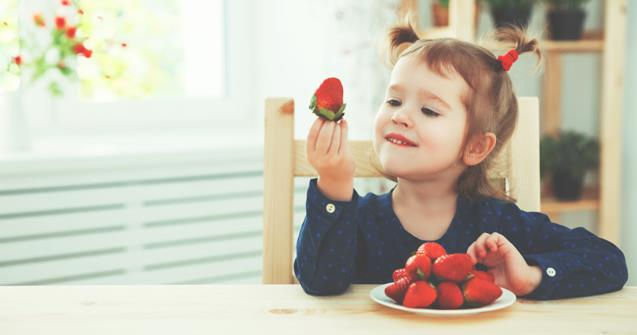 Strawberries - Babies and toddlers - Educatall