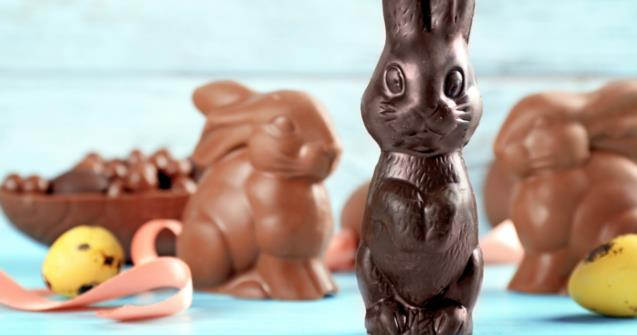 Tiny chocolate bunny - Arts and crafts - Educatall