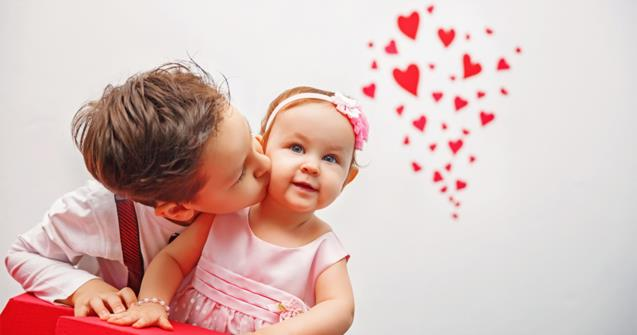 Valentine's Day - Babies and toddlers - Educatall