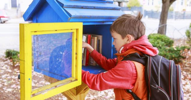 Your own little free library for book exchanges - Extra activities - Educatall