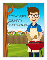 poster-My father's culinary preferences