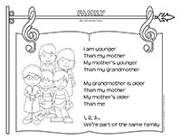 songs & rhymes-Mothers and grandmothers