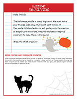 thematic letters-Halloween parade-3