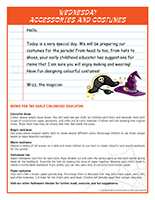 thematic letters-Halloween parade-4